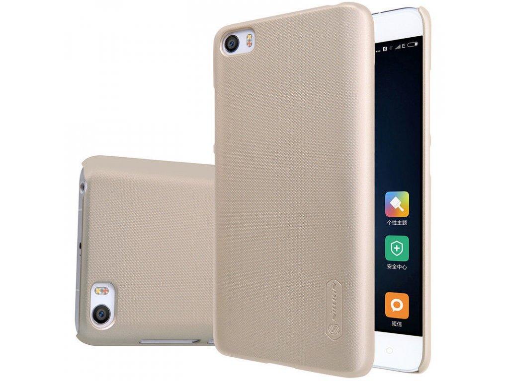 Plastový Nillkin kryt (obal) pre Xiaomi Mi5 - zlatý (gold)