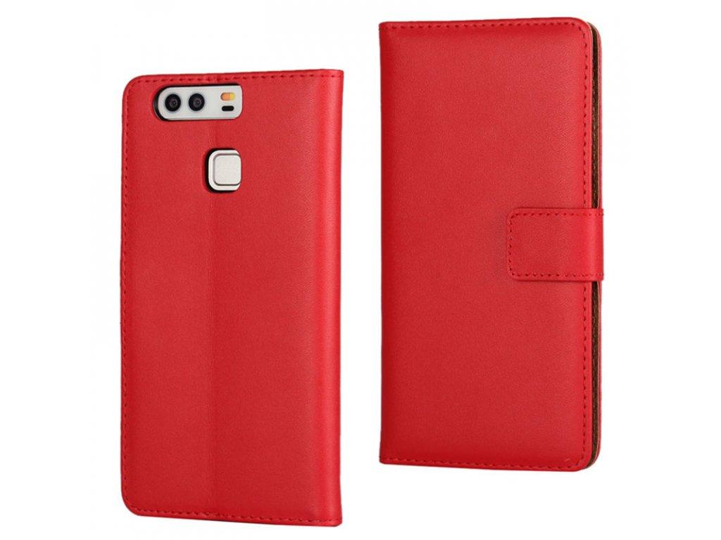Flip Case (puzdro) pre Huawei P9 - červené (red)