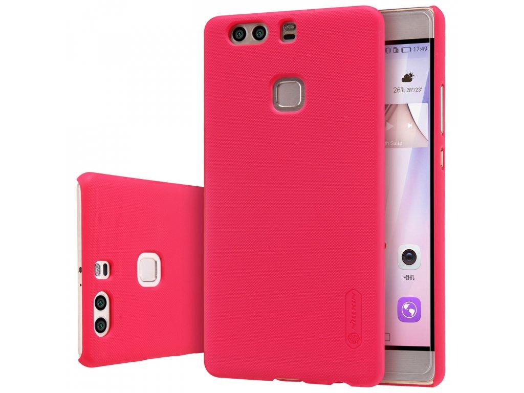 Plastový Nillkin kryt (obal) pre Huawei P9 - červený (red)