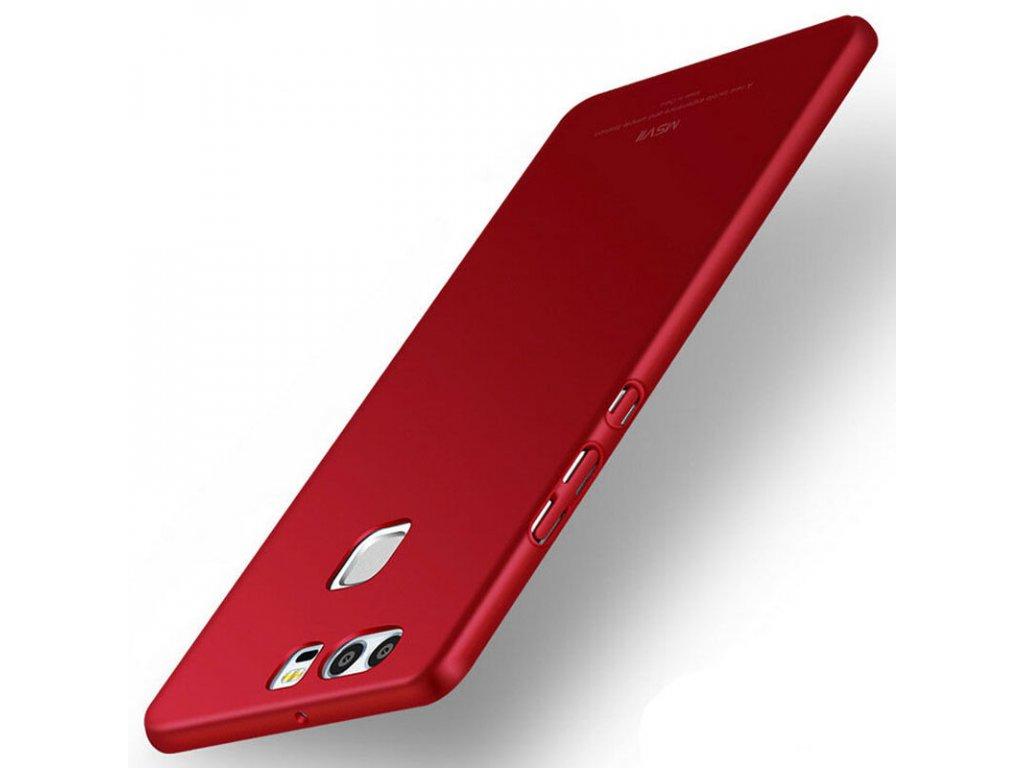 Plastový kryt (obal) pre Huawei P9 - červený (red)