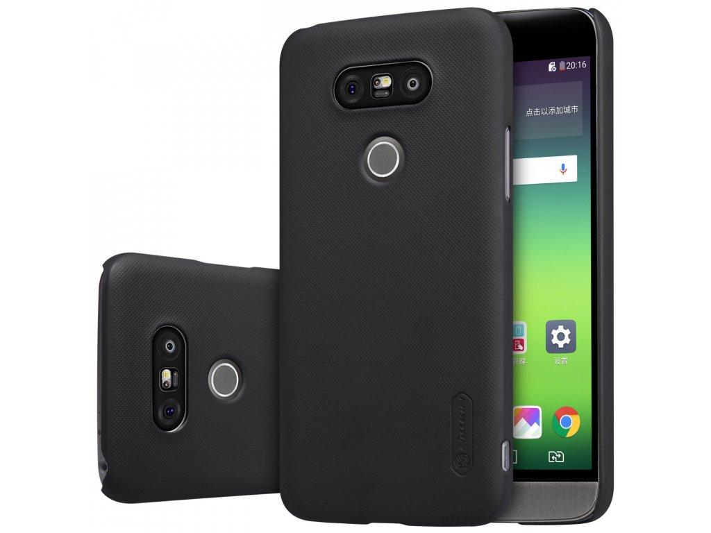 Plastový Nillkin kryt (obal) pre LG G5 - čierny (black)