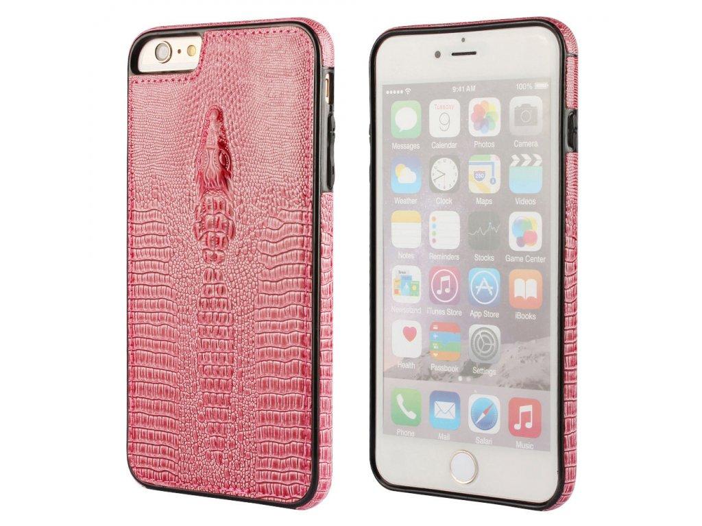 Gumový obal na iPhone 5/5S/SE červený