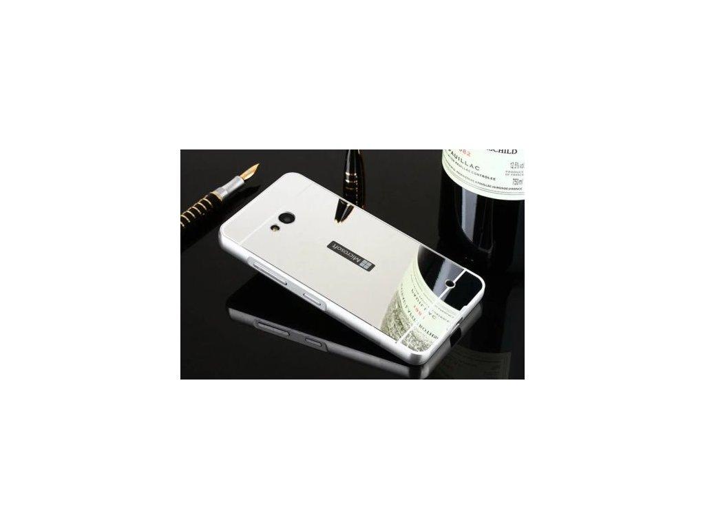 Hliníkový kryt na Nokia Lumia 550 strieborný