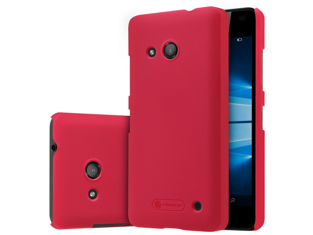 Plastový Nillkin kryt (obal) pre Nokia Lumia 550 - červený (red)