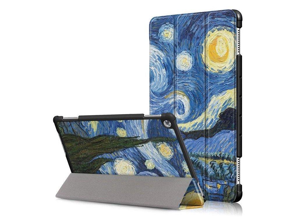 """Obal pre tablet Huawei Mediapad T3 10.0"""" - hviezdna noc"""