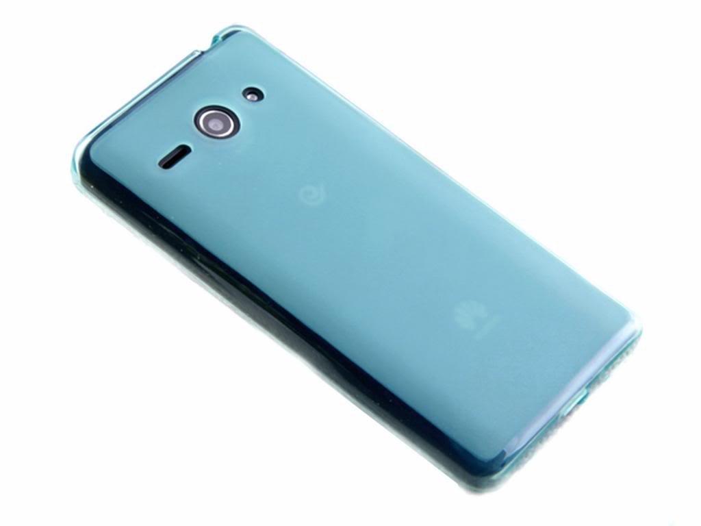 Silikónový kryt (obal) pre Huawei Ascend Y530 - modrý