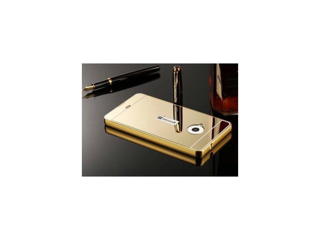 Hliníkový kryt (obal) pre Nokia Lumia 650 - zlatý (gold)