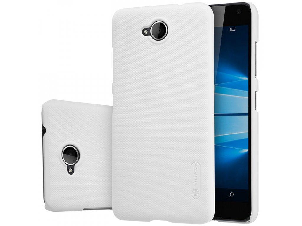 Plastový Nillkin kryt (obal) pre Nokia Lumia 650 - biely (white)