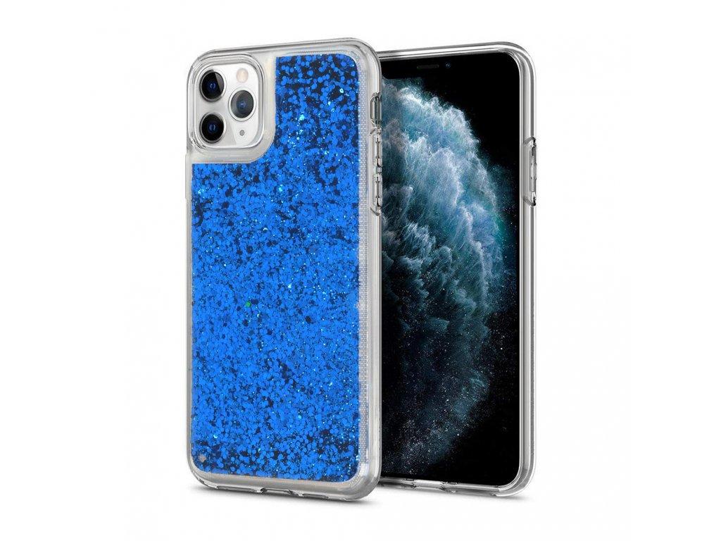 Vennus Liquid Case silikónový kryt (obal) pre Samsung A21s - modrý