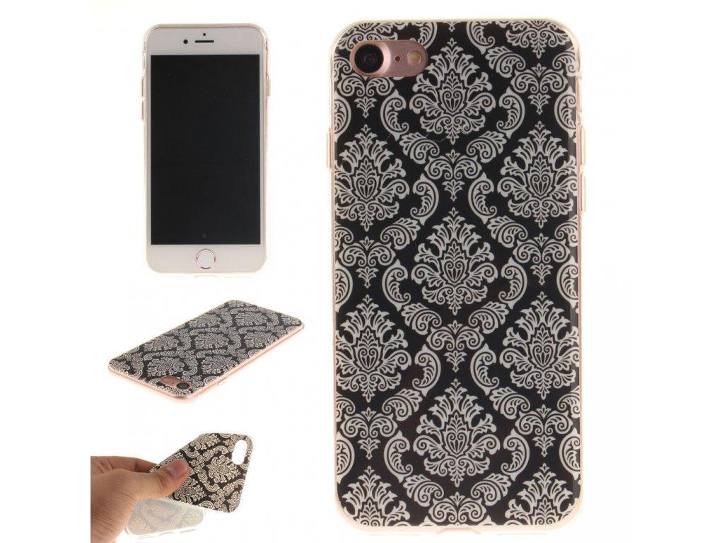Vzorovaný silikónový kryt (obal) pre iPhone 7/8/SE 2020