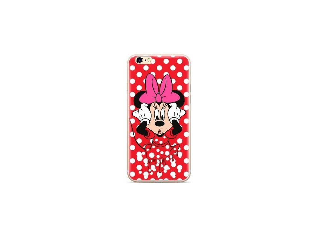 Disney Minnie zadný kryt (obal) pre Samsung Galaxy S10 - červený