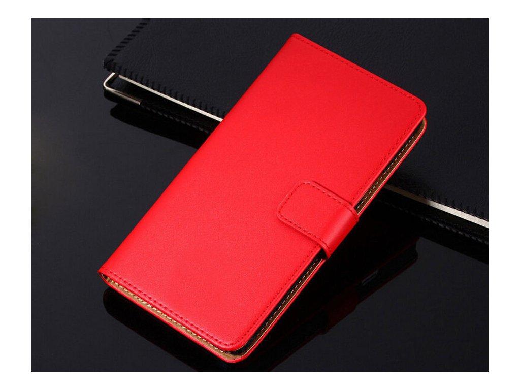 Flip Case (puzdro) pre Honor 8 - red (červené)