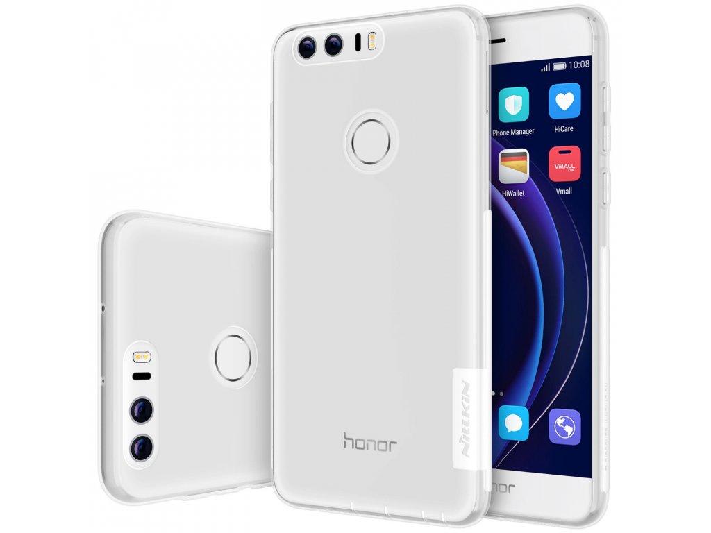 Silikónový Nillkin kryt (obal) pre Huawei Honor 8 - clear (priesvitný)