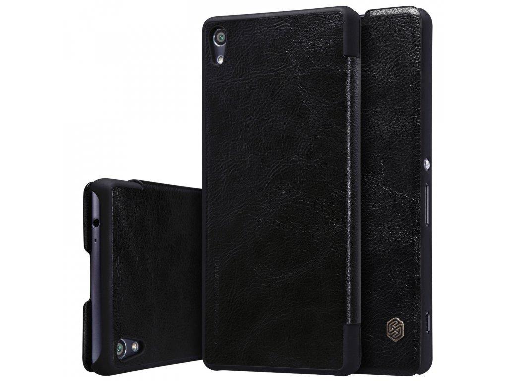 Nillkin Flip Case (puzdro) pre Sony Xperia XA - black (čierne)