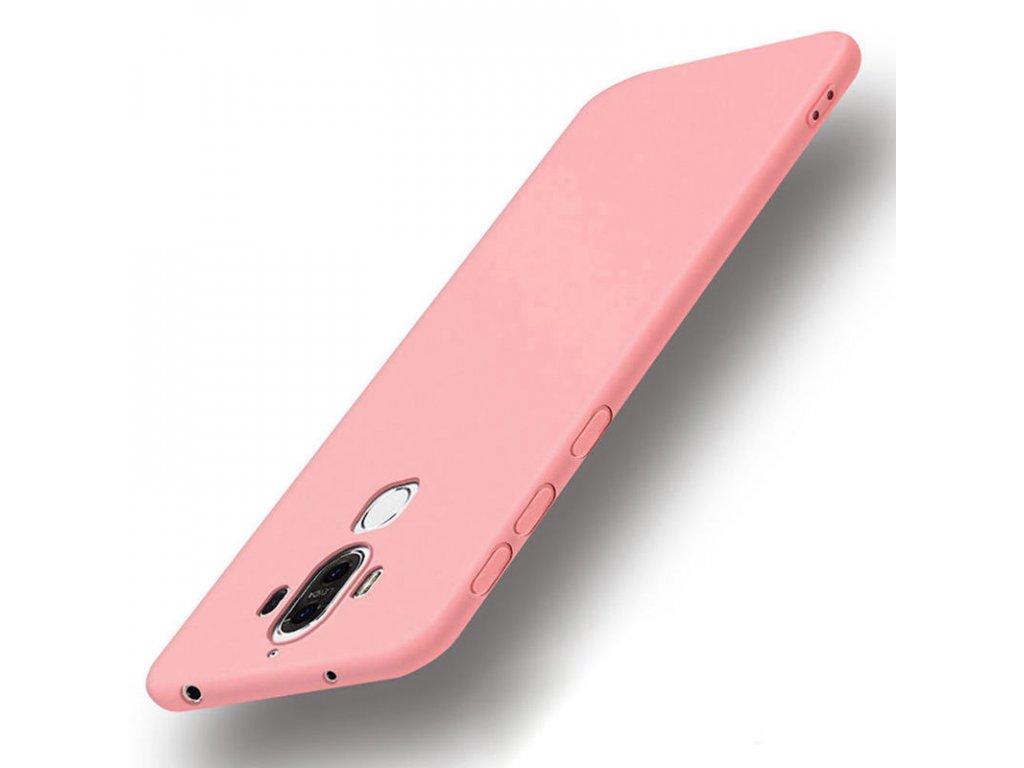 Silikónový kryt (obal) pre Huawei Mate 9 - pink (ružový)