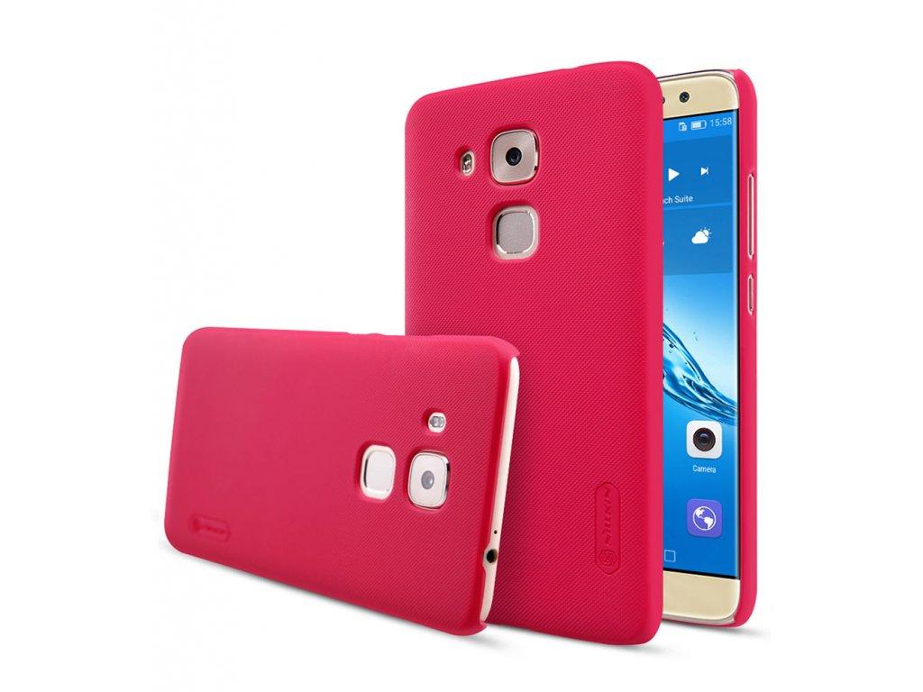 Plastový Nillkin kryt (obal) pre Huawei Nova Plus - red (červený)