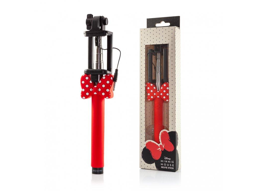 Disney Minnie Selfie Stick (selfie tyč) - červená