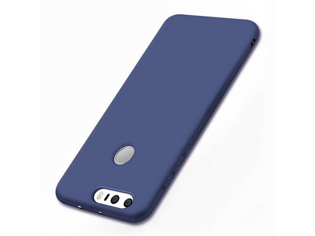 Silikónový kryt (obal) pre Huawei P9 Plus - dark blue (tm. modrý)