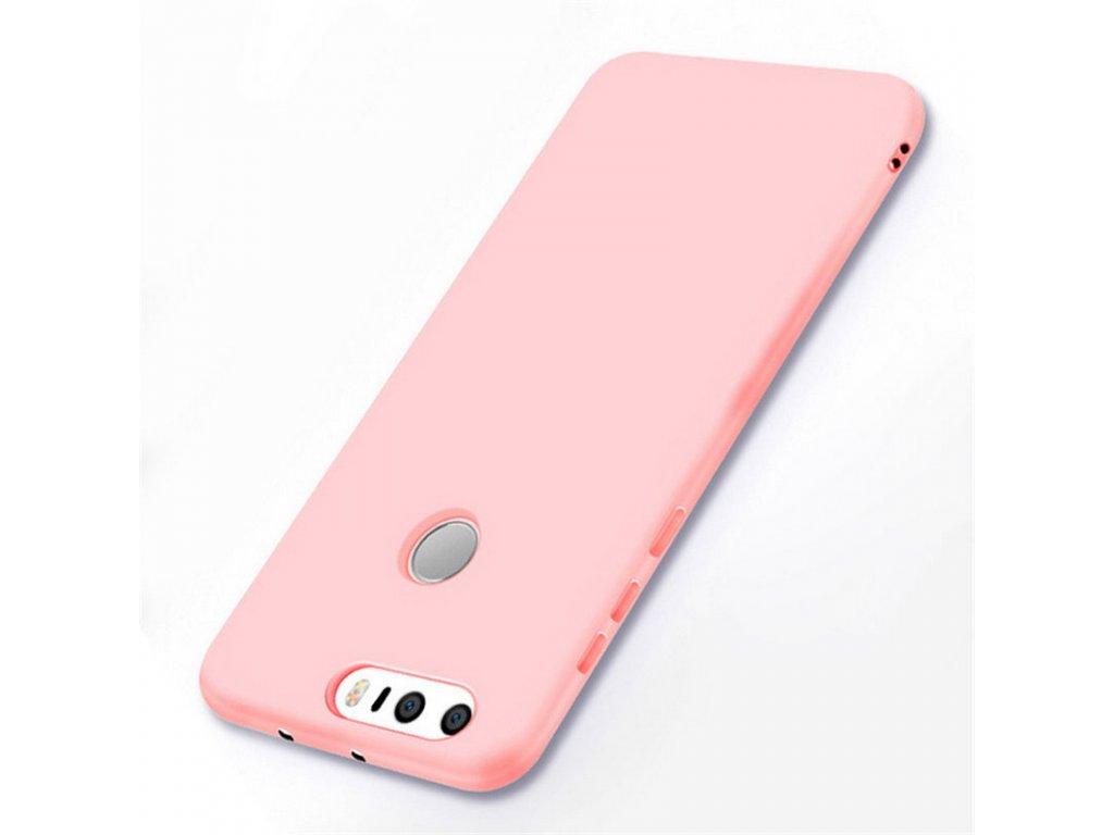 Silikónový kryt (obal) pre Huawei P9 Plus - pink (ružový)