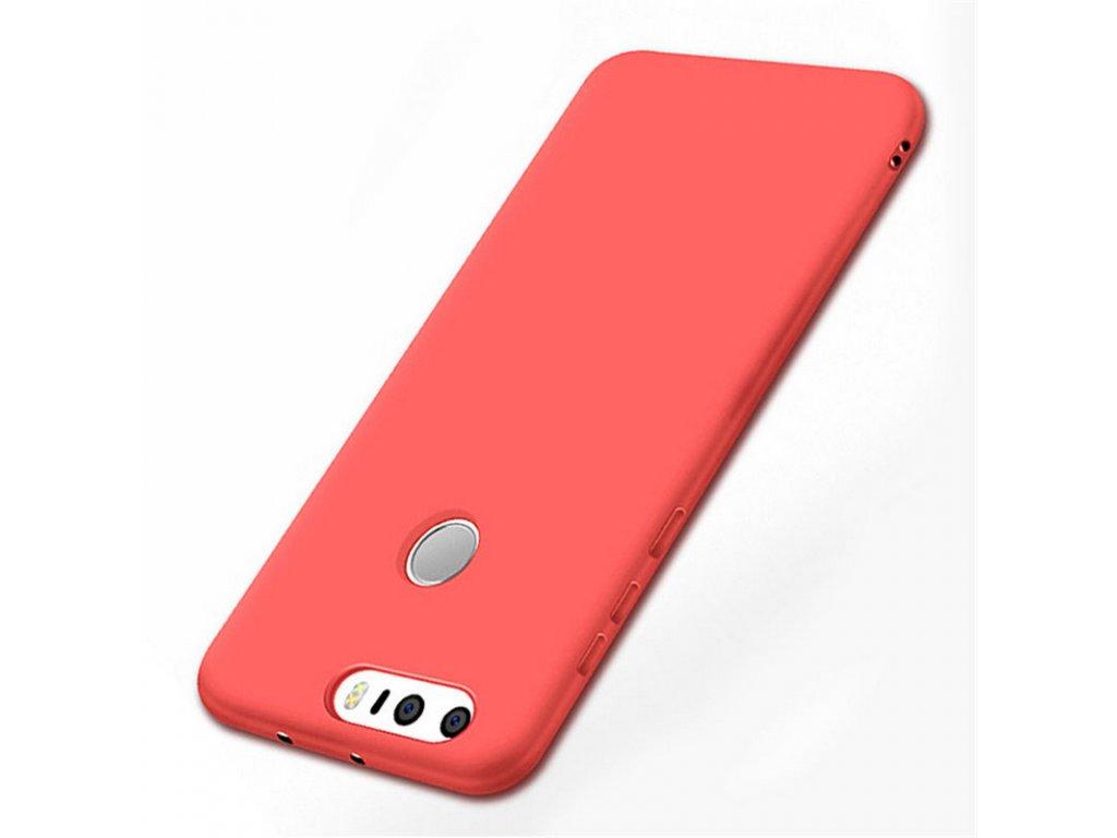 Silikónový kryt (obal) pre Huawei P9 Plus - red (červený)