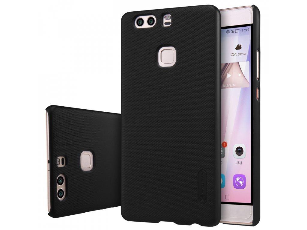 Plastový Nillkin kryt (obal) pre Huawei P9 Plus - black (čierny)