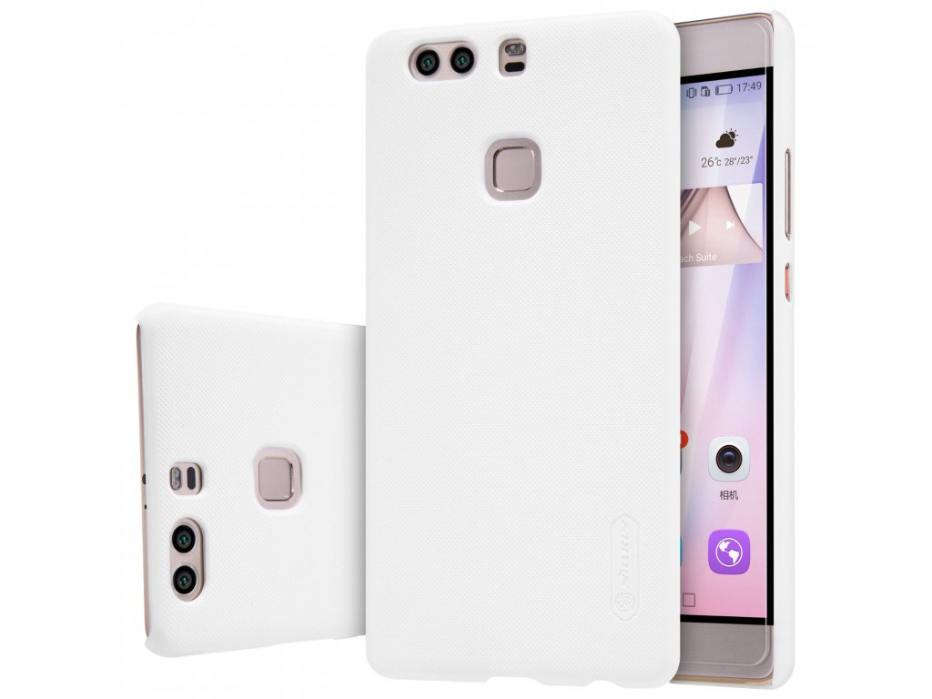 Plastový Nillkin kryt (obal) pre Huawei P9 Plus - white (biely)