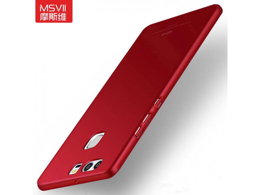 Plastový kryt (obal) pre Huawei P9 Plus - red (červený)