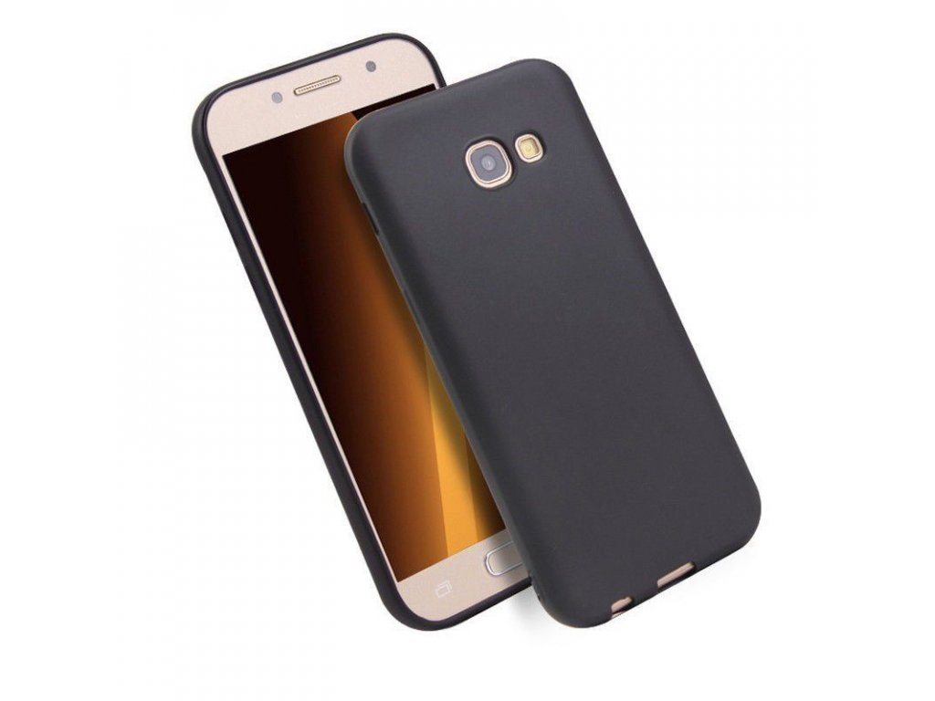 Silikónový kryt (obal) pre Samsung Galaxy A3 2017 (A320F) - čierny