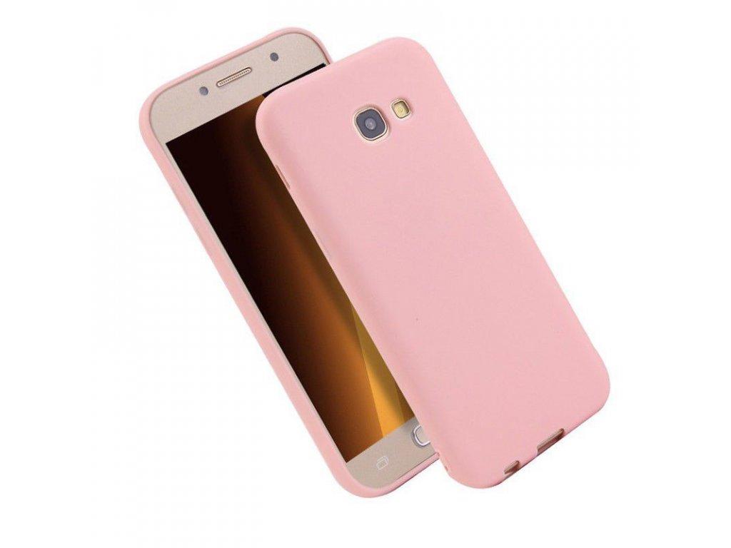 Silikónový kryt (obal) pre Samsung Galaxy A3 2017 (A320F) - ružový