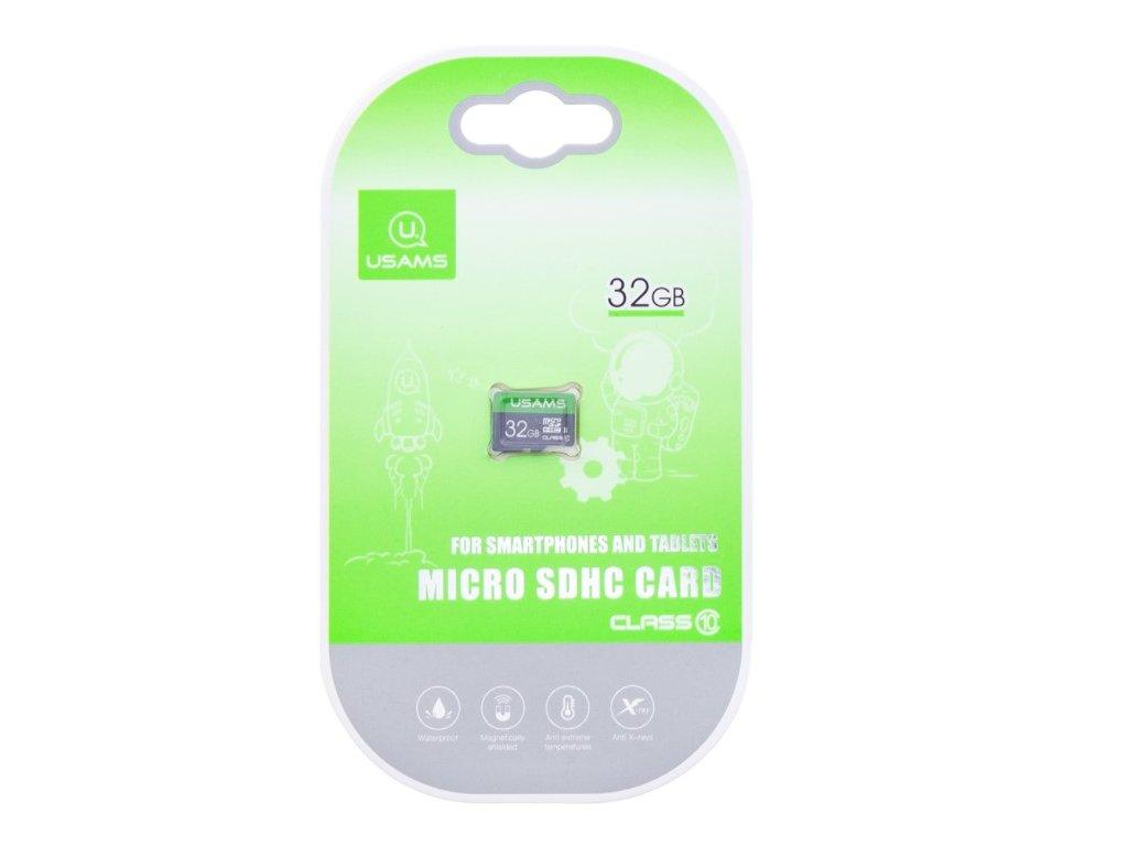 Pamäťová karta USAMS micro SDHC - 32GB
