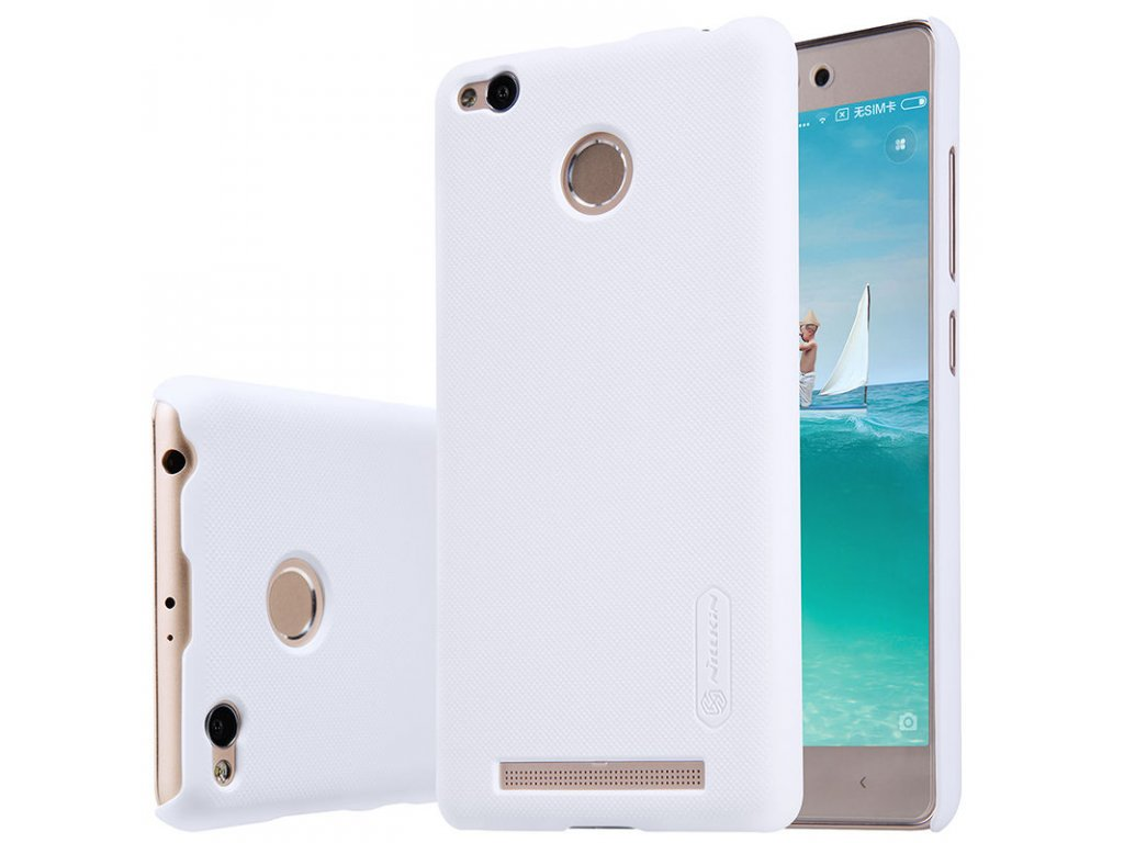 Nillkin plastový kryt (obal) pre Xiaomi Redmi 3Pro/3S - white (biely)
