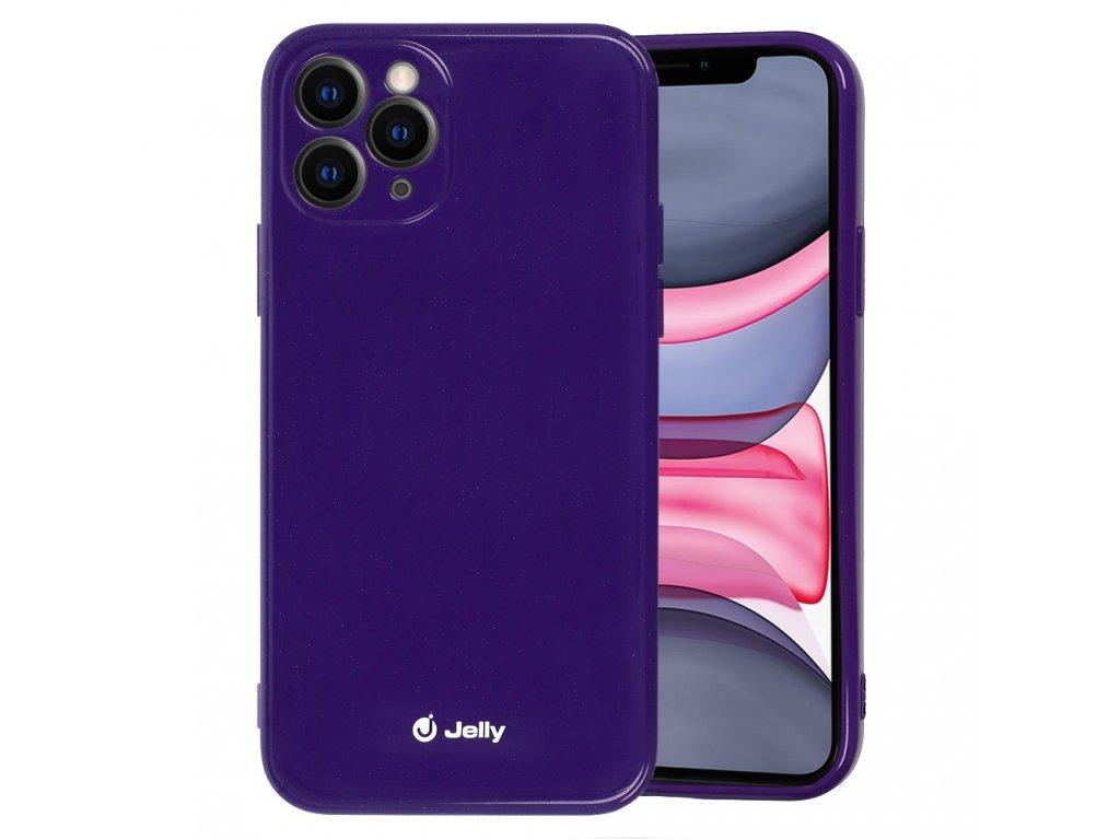 Jelly Colorful kryt (obal) pre Huawei P30 Lite - fialový