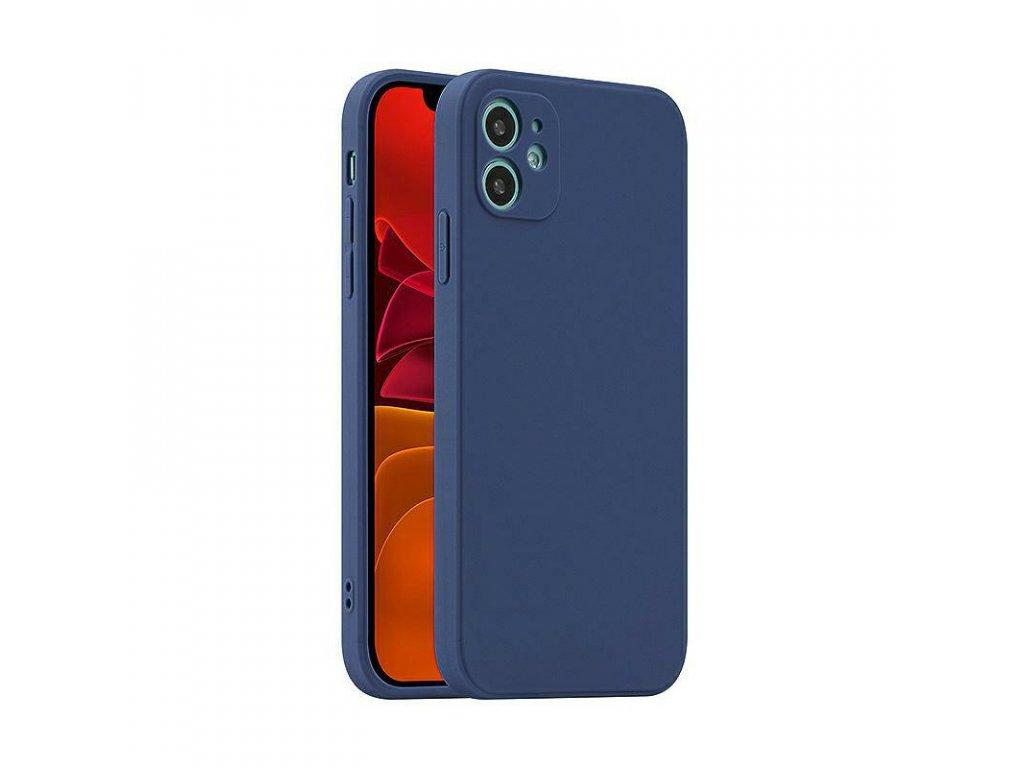 Fosca Case silikónový kryt (obal) pre Samsung Galaxy A52/A52 5G/A52s 5G - modrý