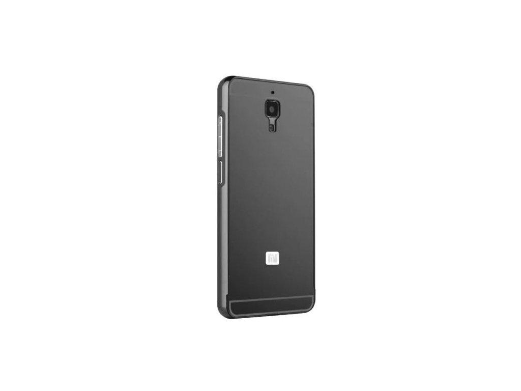 Hliníkový kryt (obal) pre Xiaomi Mi4 - black (čierny)  42555108ab0