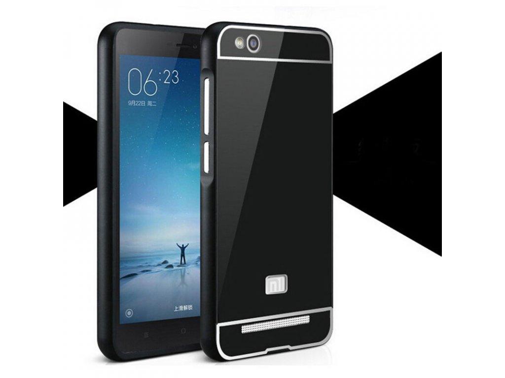 Hliníkový kryt (obal) pre Xiaomi Redmi 3 - black (čierny)