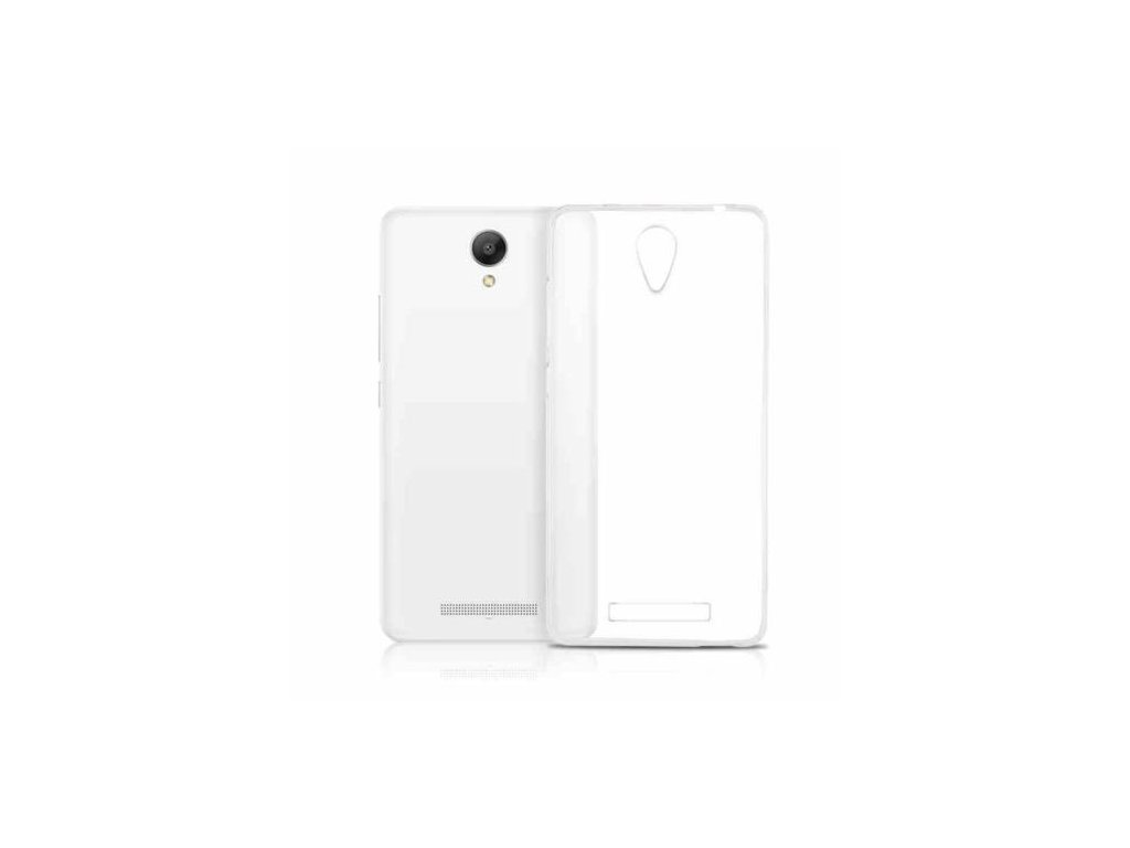 Silikónový kryt (obal) pre Xiaomi Redmi Note 2 - clear (priesvitný)