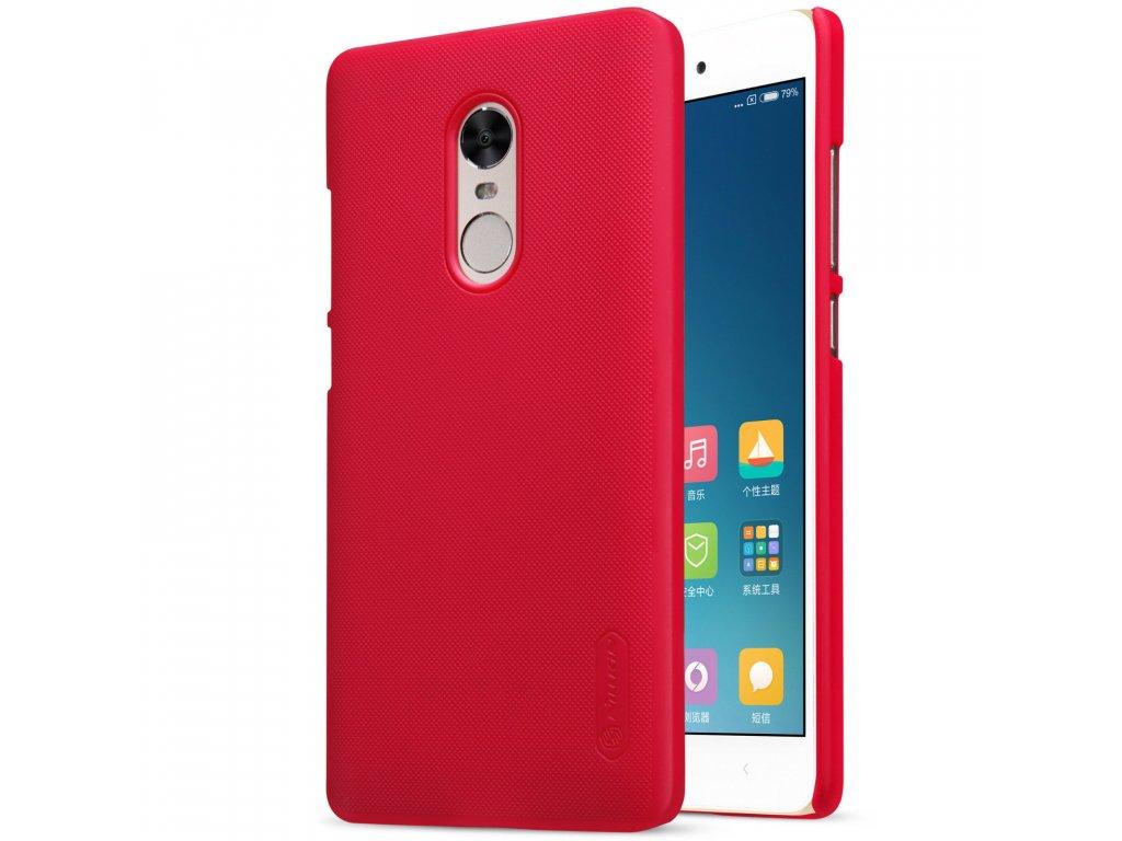 Nillkin plastový kryt (obal) pre Xiaomi Redmi Note 4 - red (červený)