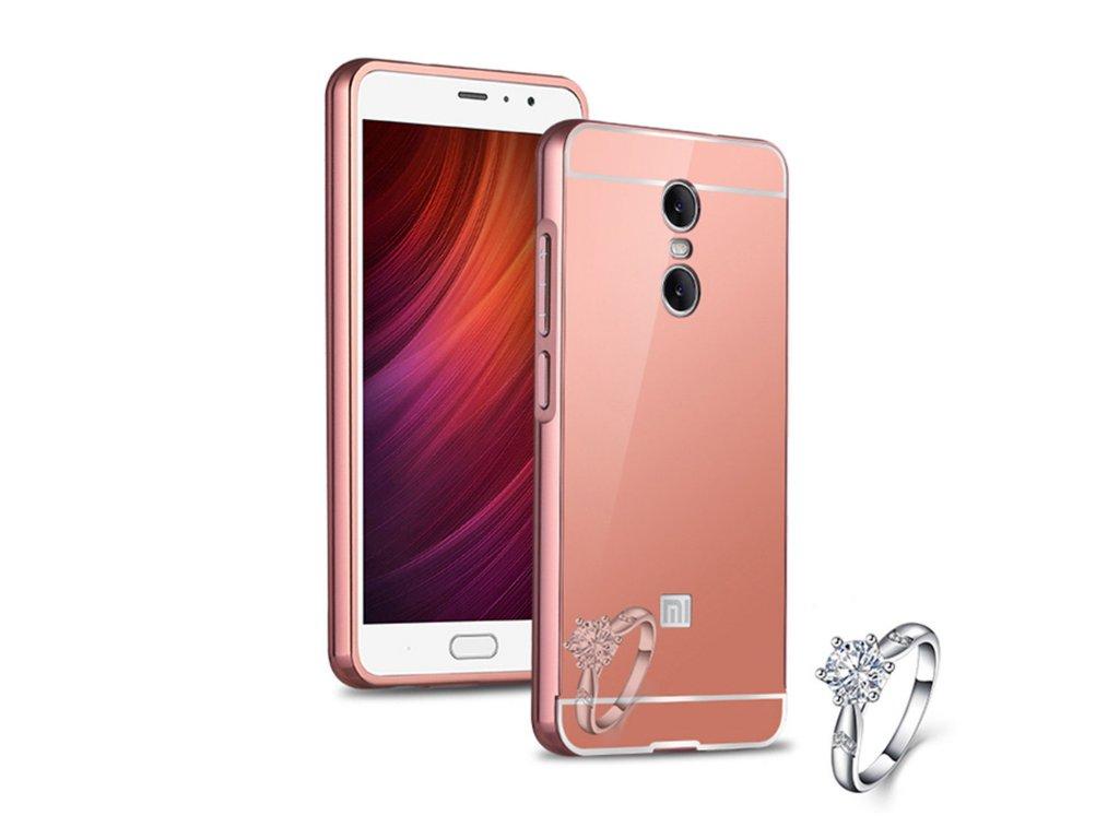 Hliníkový kryt (obal) pre Xiaomi Redmi Note 4 - pink (ružový)
