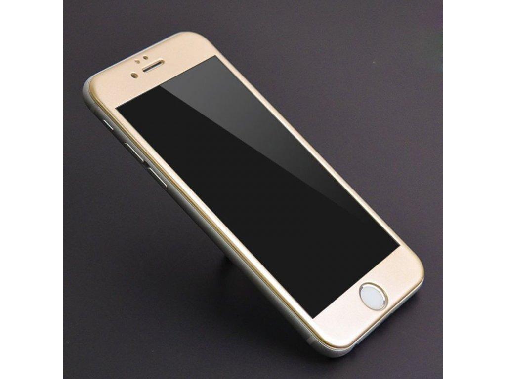 3D tvrdené sklo pre Iphone 7   8 - zlaté  5bc5ed6907c