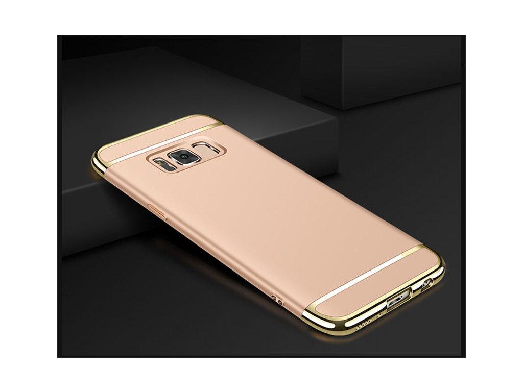 Plastový kryt (obal) pre Samsung Galaxy S8 - gold (zlatý)