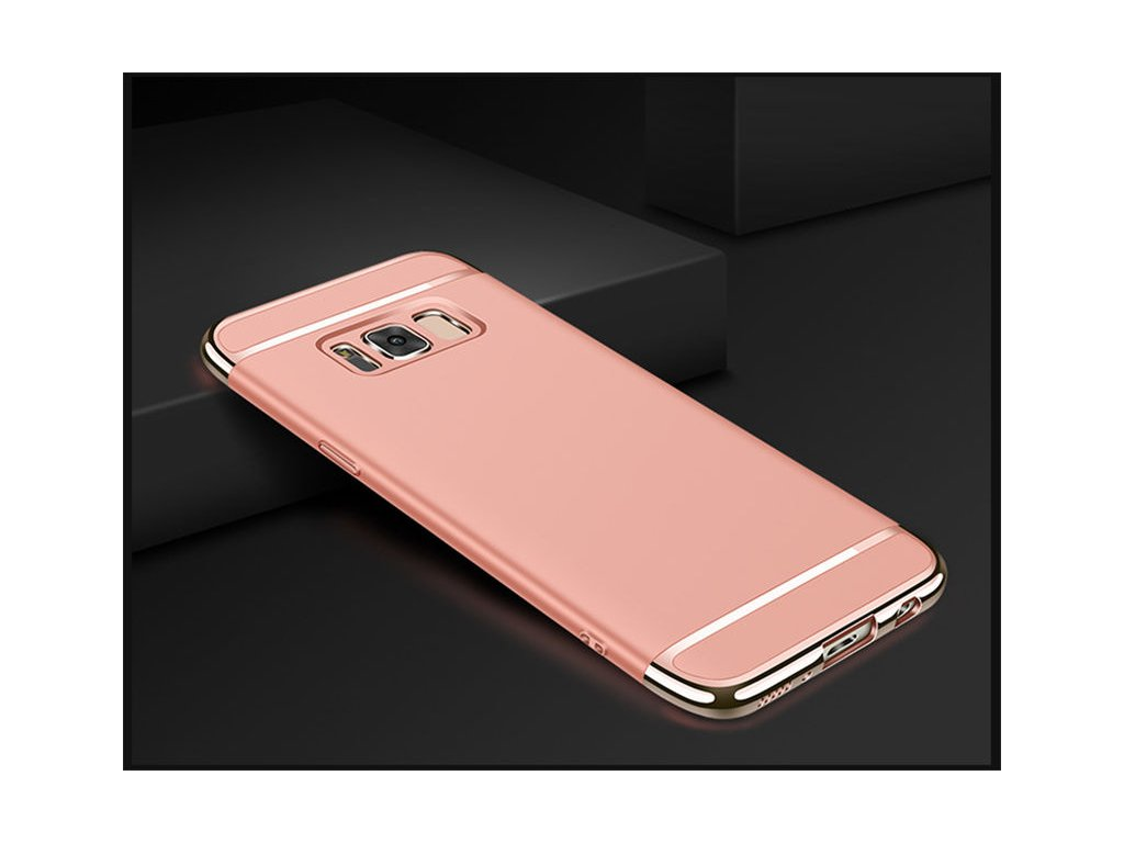 Plastový kryt (obal) pre Samsung Galaxy S8 - rose gold