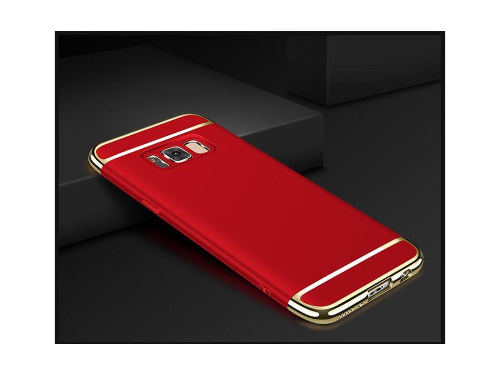 Plastový kryt (obal) pre Samsung Galaxy S8 - red (červený)
