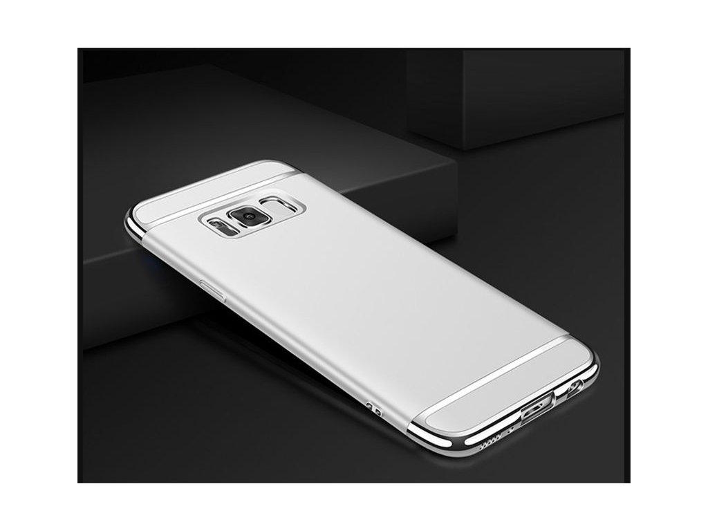 Plastový kryt (obal) pre Samsung Galaxy S8 - silver (strieborný)