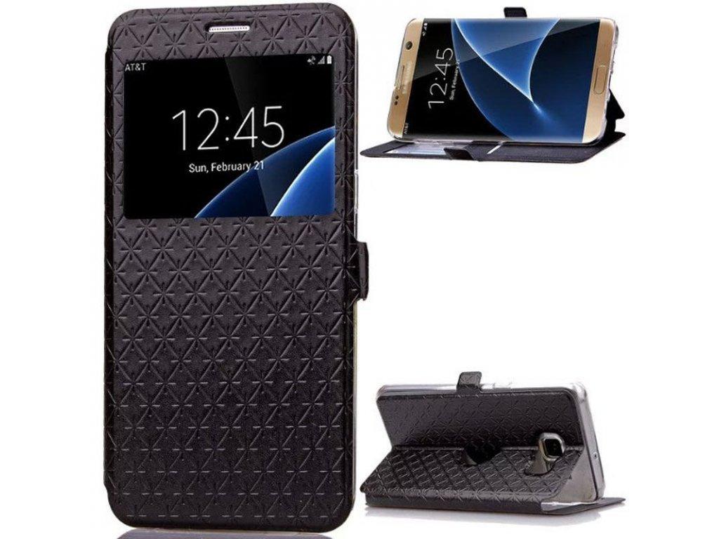 Flip Case (puzdro) pre Samsung Galaxy S8 Plus - black (čierne)