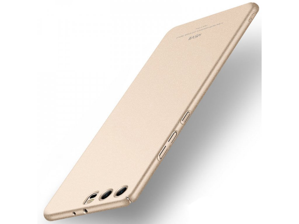 Plastový kryt (obal) pre Huawei P10 - matte gold (zlatý)