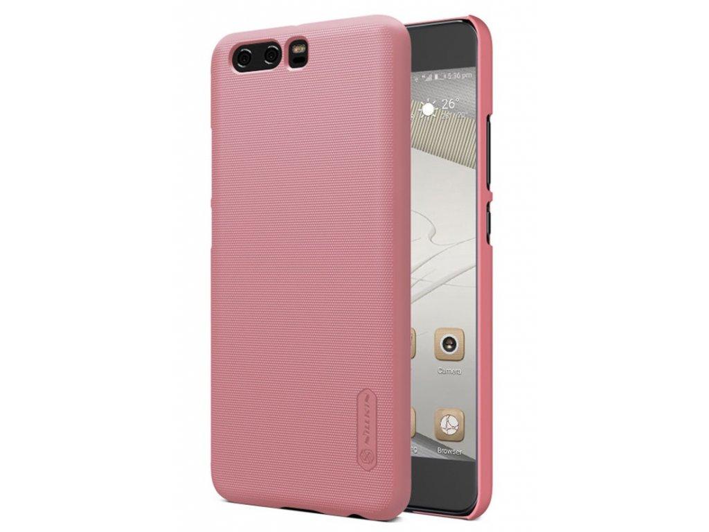 Plastový Nillkin kryt (obal) pre Huawei P10 Plus - rose gold
