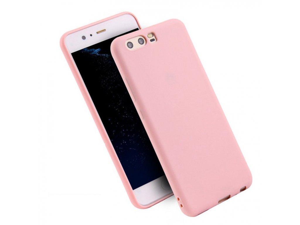 Silikónový kryt (obal) pre Huawei P10 Plus - pink (ružový)