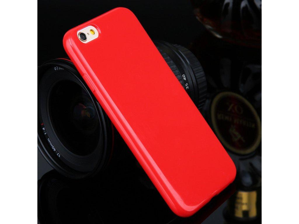 Silikónový kryt na Sony Xperia M2 červený
