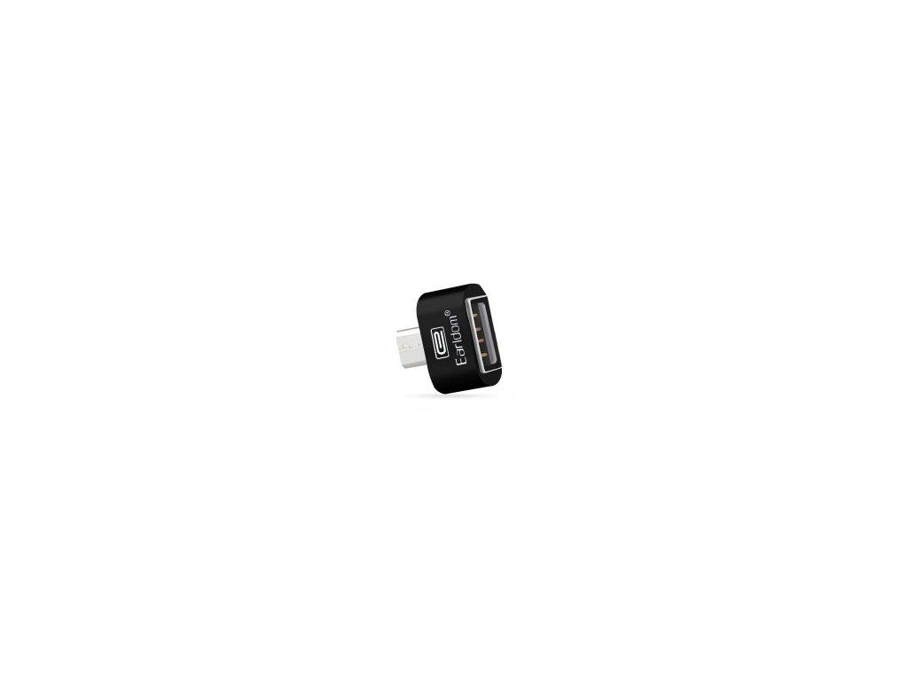 Adaptér Earldom OTG ET-OT3 z USB na micro USB - čierny