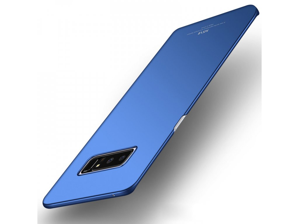 Plastový kryt pre Samsung Galaxy Note 8 (N950F) - modrý lesklý
